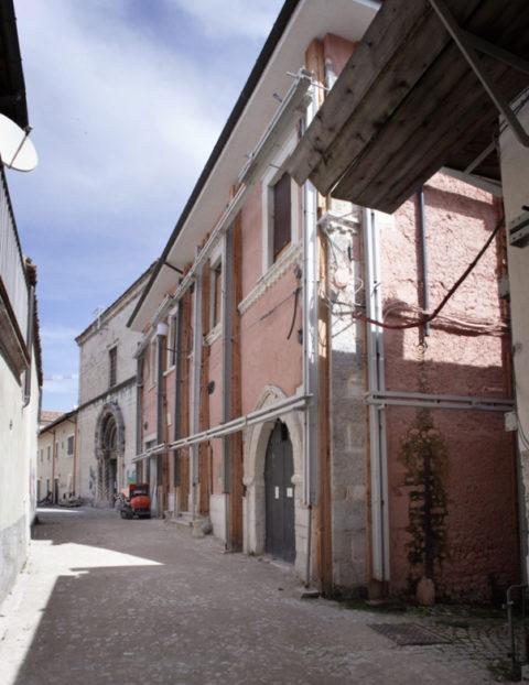 L'aquila Centro Storico, aggregato Vico e Costa San Flaviano