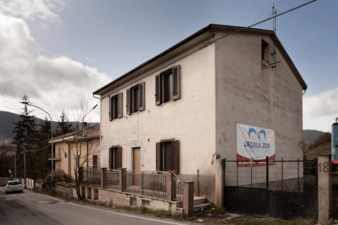 L'Aquila, via della Polveriera