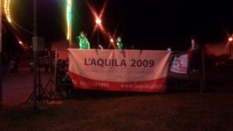 L'Aquila 2009 a Onna per la festa del patrono
