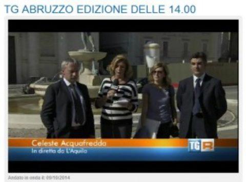 Il Polo di Innovazione per l'edilizia Sostenibile al TG3 Abruzzo