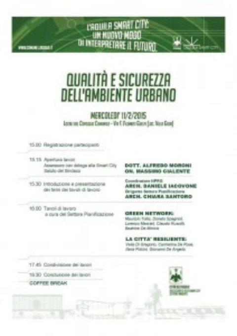 """L'Aquila 2009 partecipa a """"l'Aquila smartCity"""""""