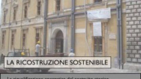 """Seminario """"La ricostruzione sostenibile"""""""