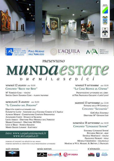 L'Aquila 2009 Sponsor del Munda Estate