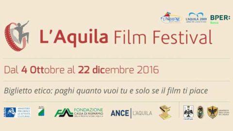 Siamo Sponsor del L'Aquila Film Festival