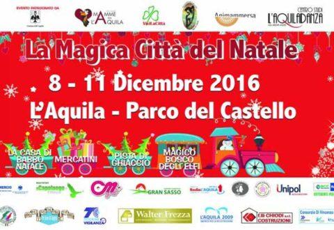 La Magica Città del Natale e L'Aquila 2009