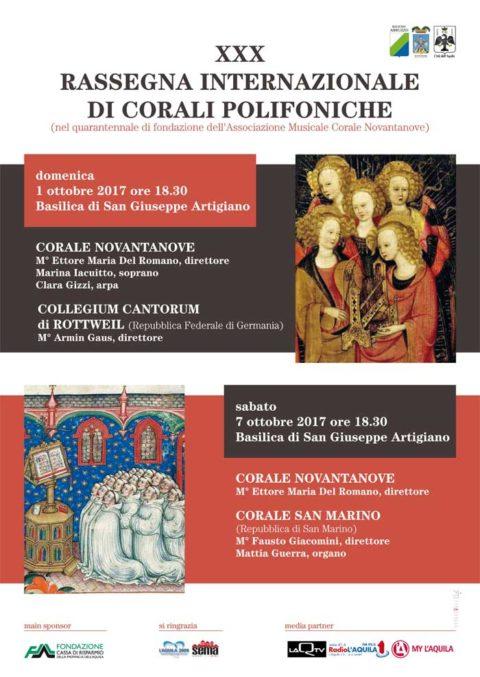 Corali Polifoniche e L'Aquila 2009