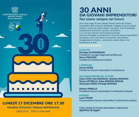 30 anni da Giovani Imprenditori!