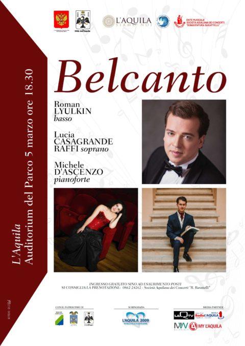 """Siamo Sponsor del Concerto """"Belcanto"""""""